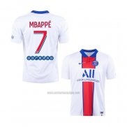 Camiseta Paris Saint-Germain Jugador Mbappe Segunda 2020-2021