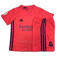 Camiseta Real Madrid Segunda Nino 2020-2021