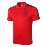 Camiseta Polo del Paris Saint-Germain 2020-2021 Rojo