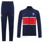 Chandal de Chaqueta del Paris Saint-Germain 2020-2021 Azul