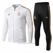 Chandal del Real Madrid 2019/2020 Blanco y Oro