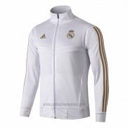 Chaqueta del Real Madrid 2019/2020 Blanco y Oro