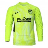 Camiseta Atletico Madrid Tercera Manga Larga 2020-2021