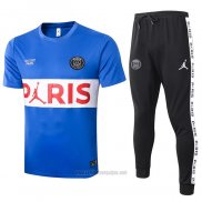 Chandal del Paris Saint-Germain Manga Corta 2020-2021 Azul