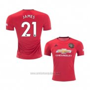 Camiseta Manchester United Jugador James Primera 2019/2020