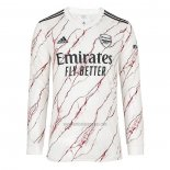 Camiseta Arsenal Segunda Manga Larga 2020-2021