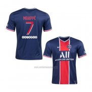 Camiseta Paris Saint-Germain Jugador Mbappe Primera 2020-2021