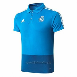 Camiseta Polo del Real Madrid 2019/2020 Azul