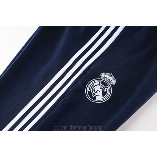 Chandal con Capucha del Real Madrid 2019/2020 Gris