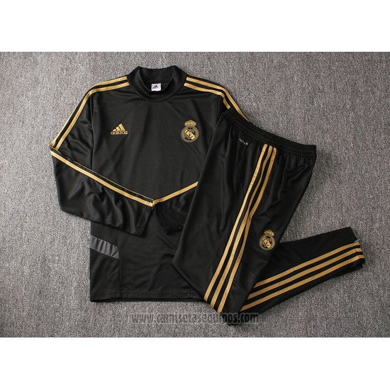 Chandal del Real Madrid Nino 2019/2020 Negro