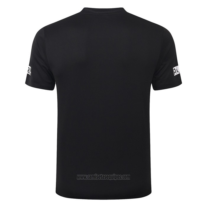 Camiseta de Entrenamiento Paris Saint-Germain 2020-2021 Negro