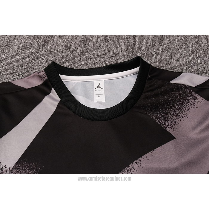 Chandal del Paris Saint-Germain Manga Corta 2020-2021 Negro y Gris