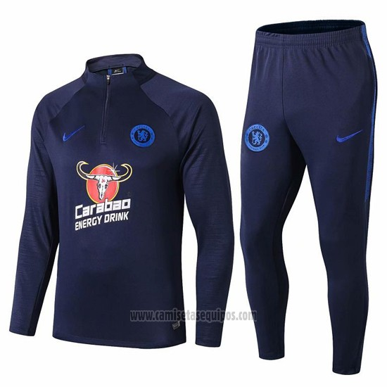 Chandal del Chelsea 2019/2020 Azul Oscuro