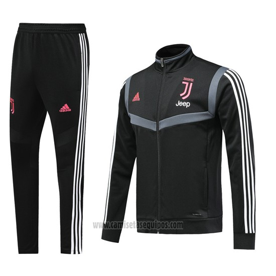 Chandal del Juventus Jeep 2019/2020 Negro