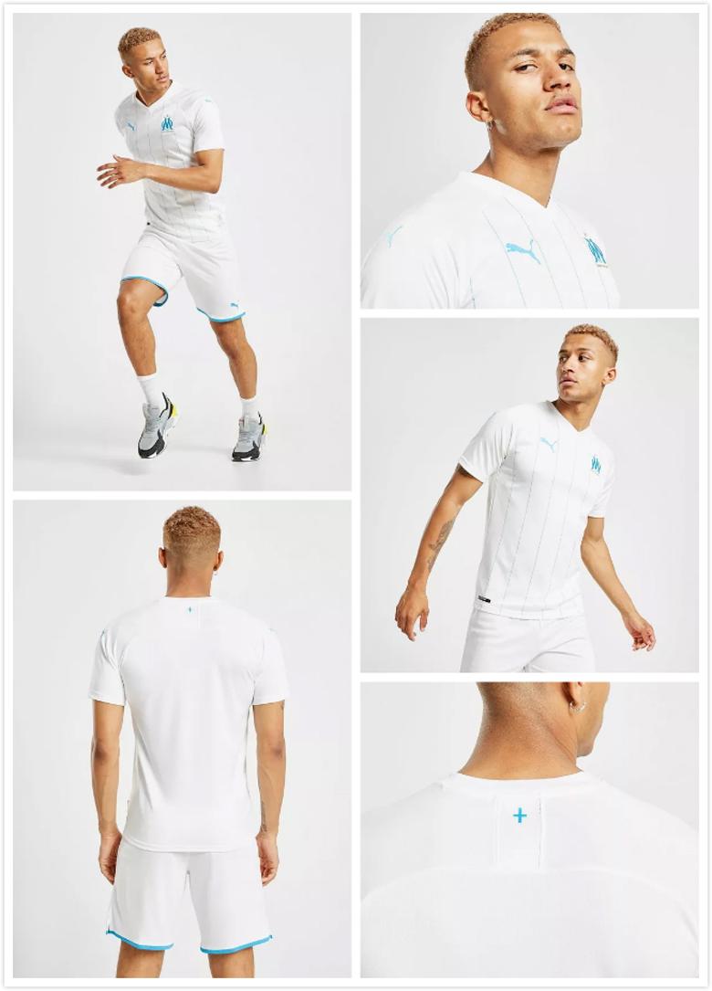 Camiseta Olympique Marsella Primera barata 2019-2020