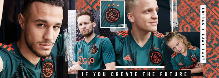 camisetas Ajax replicas 2019-2020
