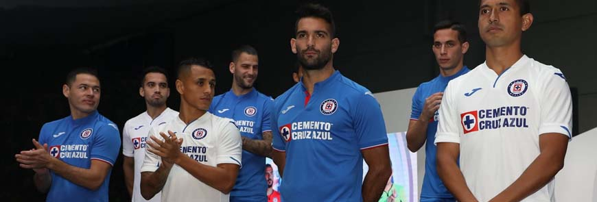 camisetas Cruz Azul replicas 2019-2020
