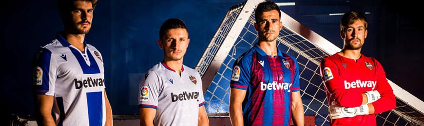 camisetas Levante replicas 2019-2020