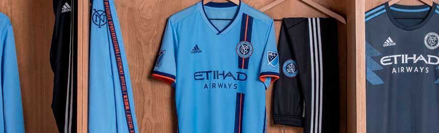 camisetas New York City replicas 2019-2020