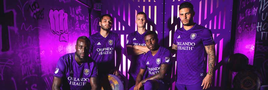 camisetas Orlando City replicas 2019-2020