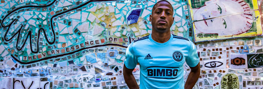 camisetas Philadelphia Union replicas 2019-2020
