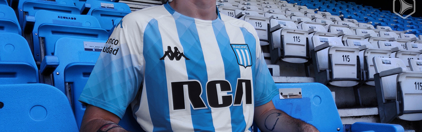 camisetas Racing Club replicas 2019-2020