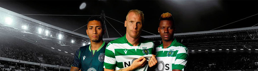 camisetas Sporting replicas 2019-2020
