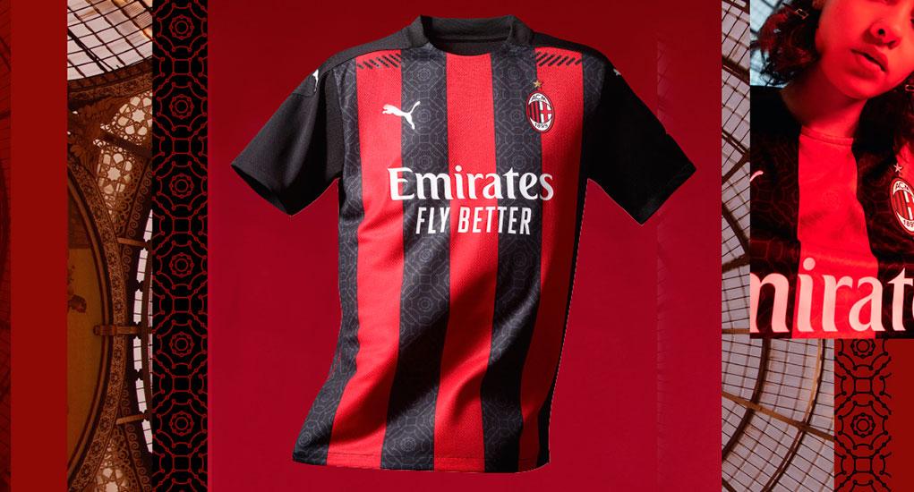 AC Milan 2020-21 PUMA Home Kit