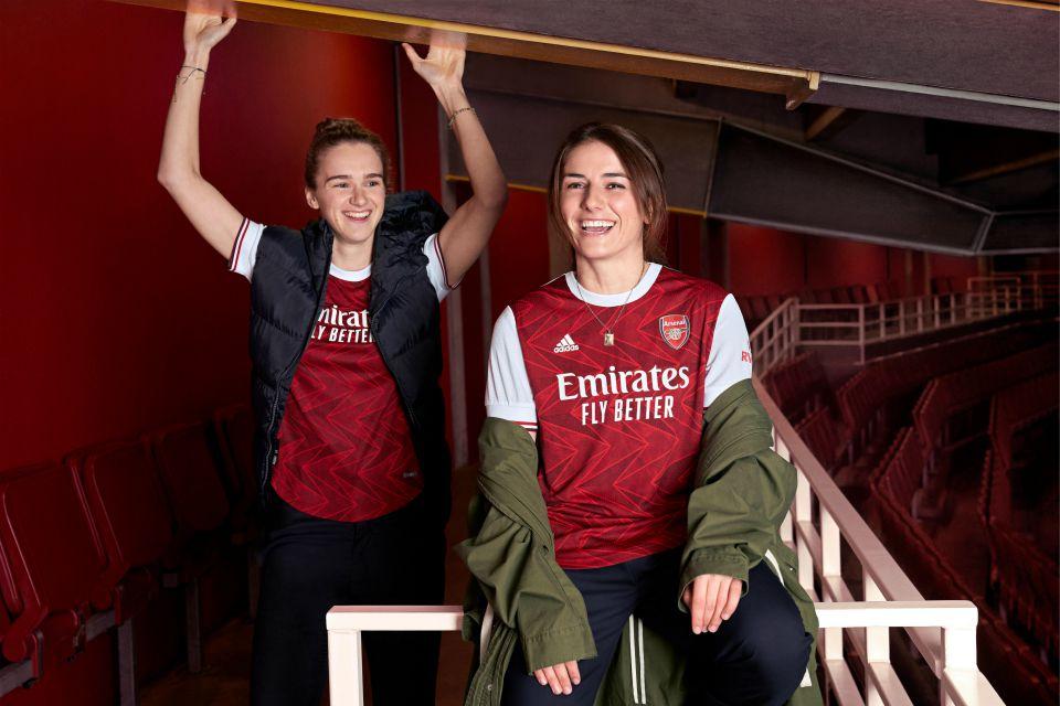 Arsenal 2020-21 Home Kit