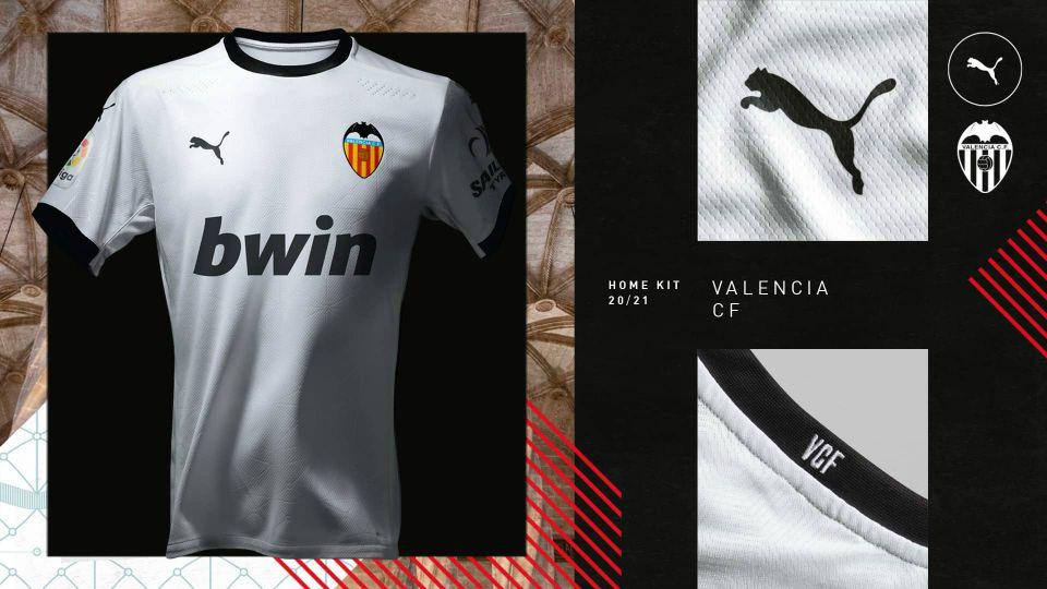 Camisetas Valencia 2020-21